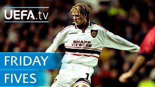 Beckham, Platini, Brahimi: 5 great free-kicks
