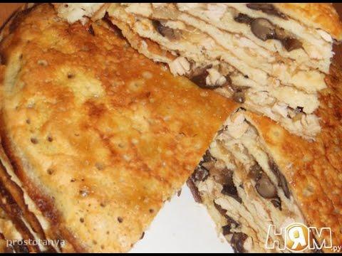 курник из блинов рецепт с пошаговым фото