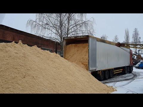 Перевозка опилок | Перевозка биомассы