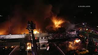 Explosion at Queens fire
