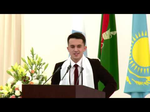 UCA Naryn Campus Inauguration: Speech by Student Representative Eraj Uzoqov