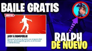 NEW *FREE BAILE IN FORTNITE* RALPH THE DEMOLEDOR RETURNS / FILTERED SKIN PACK - WOLF D3ATH