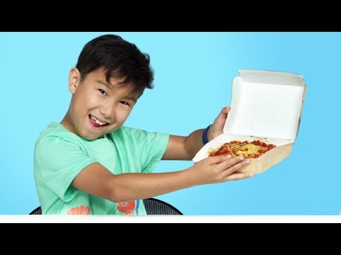 Kids Try Jollibee | Kids Try | HiHo Kids