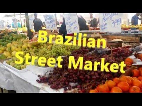 Street Market - Feira Livre in Sao Paulo (Brazil)