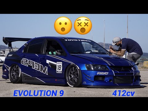 O PERFEITO MITSUBISHI EVOLUTION 9 !!!