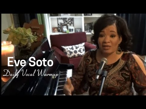 """Eve Soto - NEW Daily Vocal Warm Up - """"Don't Save Your Voice!"""" Vocal Exercise Jim Dooley"""