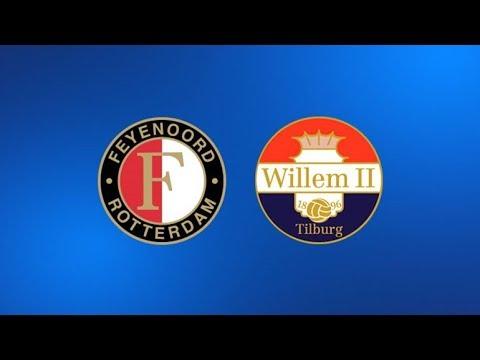 Willem ii - feyenoord live // eredivisie
