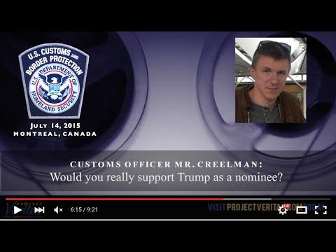 O'Keefe Won't Back Down as U.S. Customs Assaults First Amendment