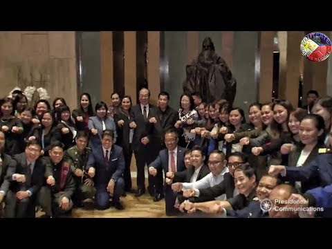 PANGULONG DUTERTE PUMUNTA NG SINGAPORE PARA SA 33rrd ASEAN SUMMIT NOVEMBER 13-15 , 2018