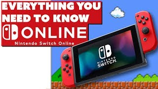 Everything You Need To Know: Nintendo Switch Online