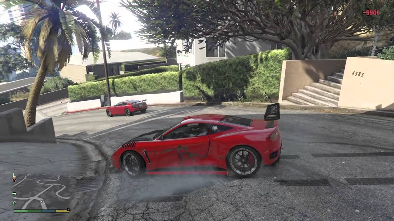 Gta V Funny Gameplay And Drifting With Cheat Code Car