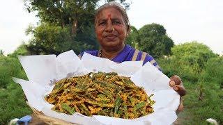 Kurkuri Bhindi Recipe-How to Make Crispy Okra-Bhindi Kurkuri-Okra or Bhindi Fry