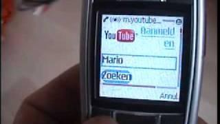 youtube on wap internet on nokia 6230