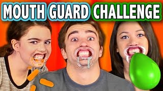 MOUTHGUARD CHALLENGE (ft. React Cast & FBE Staff) | Challenge Chalice