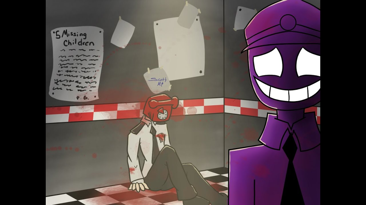 Purple guy amp phone guy five nights at freddy 180 s youtube