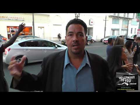 Lou Pizarro From Operation Repo talks about his new company MundoFlixs outside Viva Restaurant in Ho