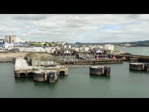 Brittany Ferries MV Armorique Departing From Plymouth, Devon, England 12th August 2017