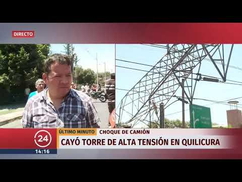 Corte de luz se registra en varias comunas de Santiago