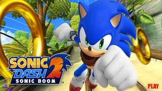 Sonic Dash 2 Sonic Boom Android Game Play Video