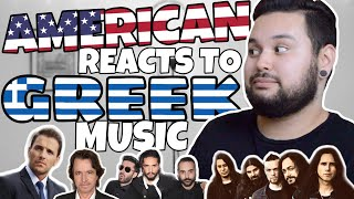 American REACTS // Greek Music