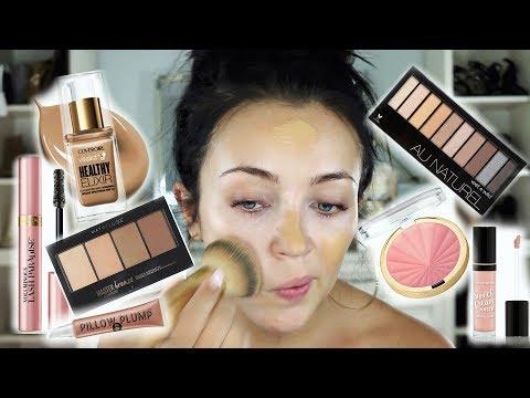 NEW DRUGSTORE MAKEUP W/ FIRST IMPRESSIONS! | Stephanie Ledda