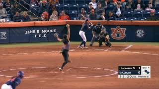 Auburn Softball vs Kennesaw State Highlights