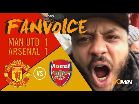 Arsenal Steal draw at Man United | Giroud goal rescues Arsenal | 90min FanVoice
