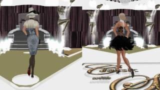 Ms Flora Stipe Second Life Model Video