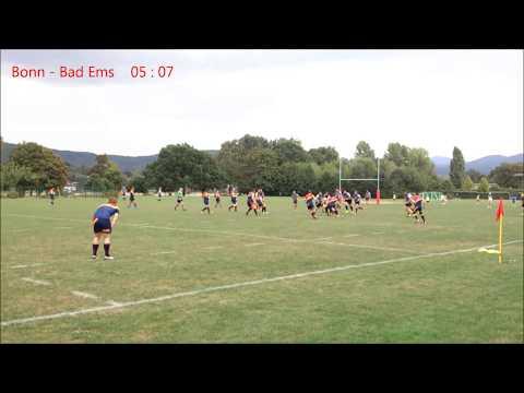 RC Bonn-Rhein-Sieg - VfL Bad Ems Rugby  17.09.2016 (1. HZ)