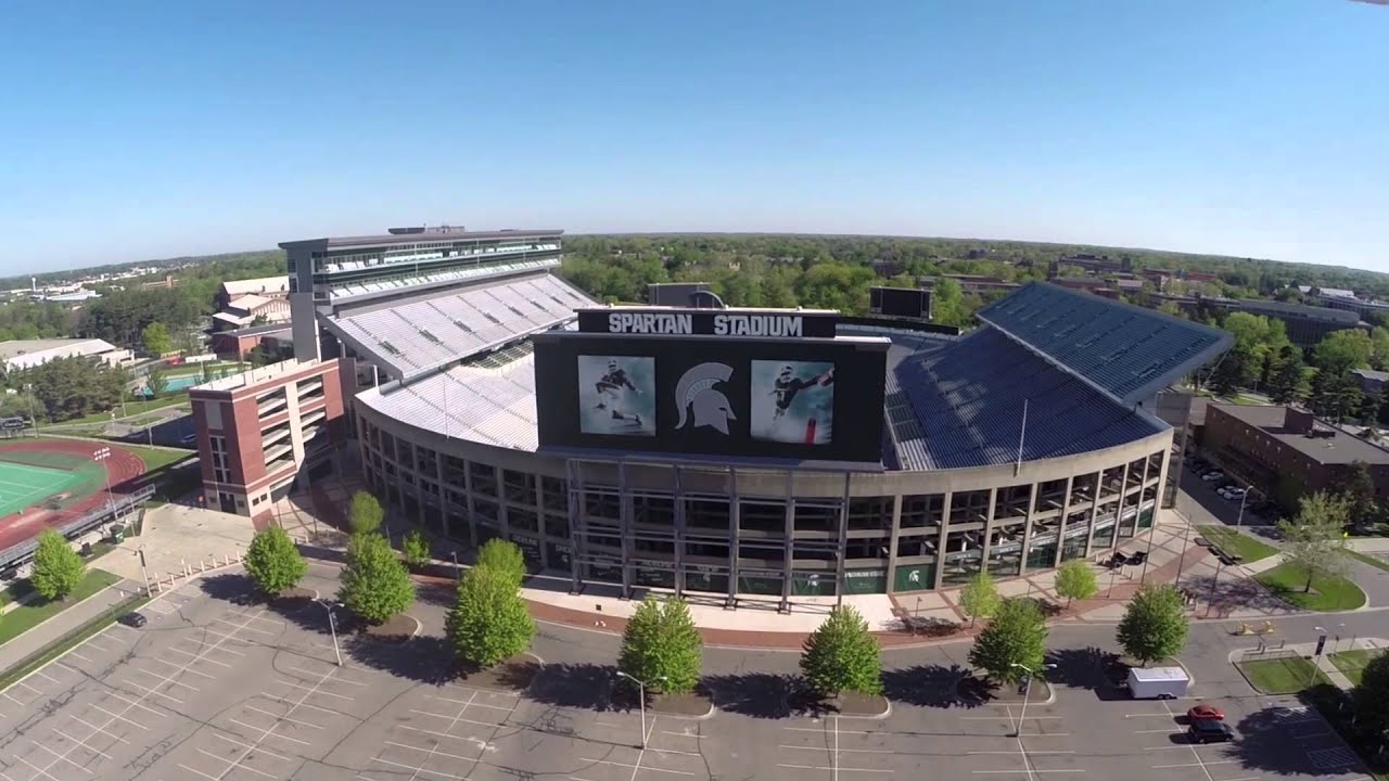 Spartan Stadium by John McGraw Photography - YouTube