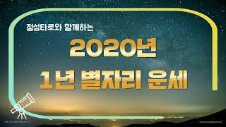 2020년 신년 별자리운세 with 점성타로