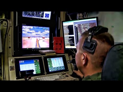 MQ-1 Predator Drone Flight • Pilot & Sensor Operator
