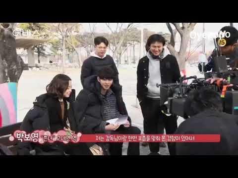 Park Bo Young And Ahn Yo Seop / Abyss Bts/ Korean Drama