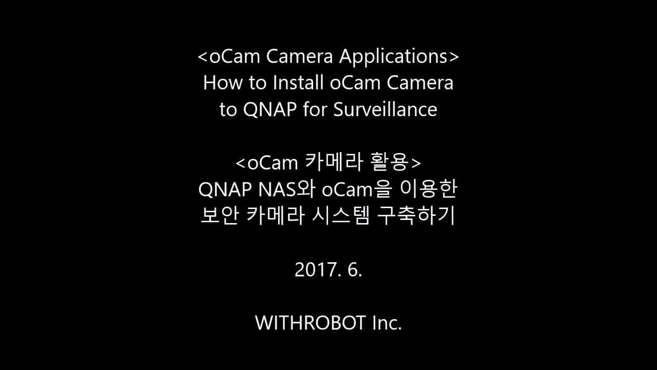 oCam-5CRO-U – WITHROBOT