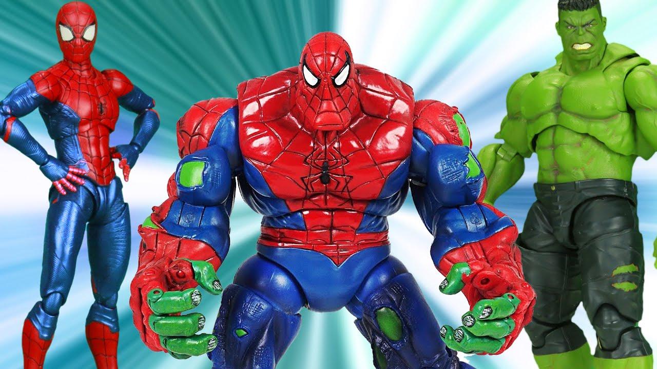 Download Spider-Man Vs Hulk Best Scene For Viewers In Spider-verse | Figure Stopmotion
