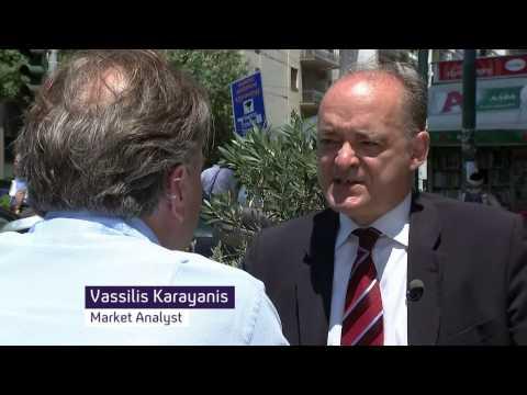 06/07/2015 - Vassilis Karayannis - Channel 4 - Greek debt crisis, banking system