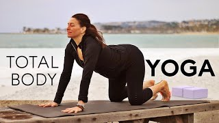 Total Body Yoga Flow For Strength and Flexibility - Fightmaster Yoga