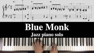 """Blue Monk"" Free Jazz Piano Free sheet music"