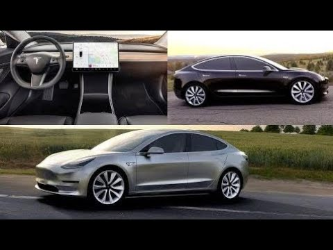 2018-tesla-model-3---interior-exterior-and-drive