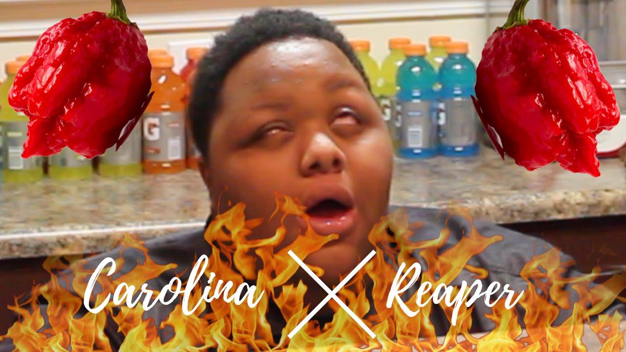 World 39 S Hottest Pepper Challenge The Carolina Reaper 0ver