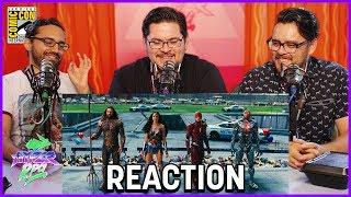 Justice League - Comic-Con Sneak Peek Reaction - SDCC 2017