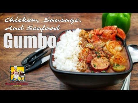 Seafood Gumbo Recipe | #SoulFoodSunday | Crock Pot Recipe