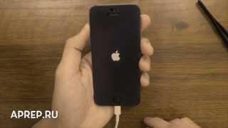 Очищаем от пыли разъем зарядки iPhone 5(Если ваш iPhone 5/5C/5S ни реагирует на подключение к usb кабелю, то вот совет по устранению проблемы., 2014-10-05T15:15:02.000Z)