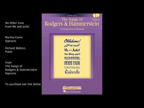 "No Other Love from ""Me and Juliet"" (Soprano) by Richard Rodgers and Oscar Hammerstein II"
