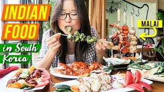 Indian Food in South Korea PUBLIC MUKBANG