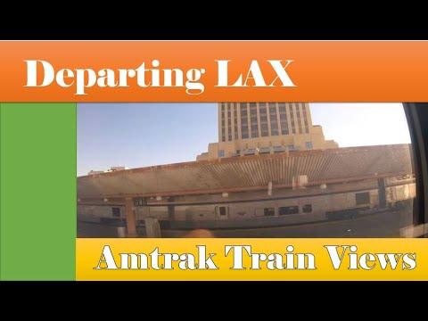 LEAVING LOS ANGELES UNION STATION
