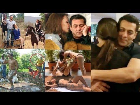 Salman Khan ToBe Wife Iulia Vantur Chilling Wid Him At Private Bungalow Bedroom In Panvel