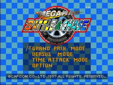 PSX Longplay [329] Megaman: Battle and Chase
