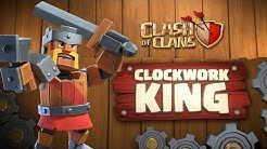 Clash of Clans: Clockwork King (May Season Challenges | Clashy Constructs #2)