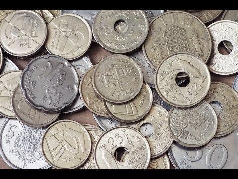 Spanish Peseta Coin Collection (2018)